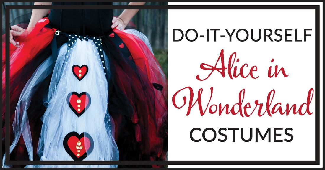 Diy Queen Of Hearts And Mad Hatter Alice And Wonderland